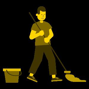 Limpar a casa